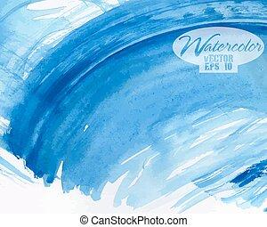 watercolor, abstract, kleurrijke