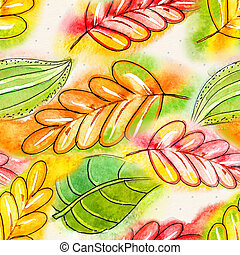 watercolor, abstract, seamless, textuur