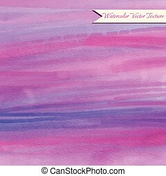 Watercolor abstract texture - Pink and violet watercolor...