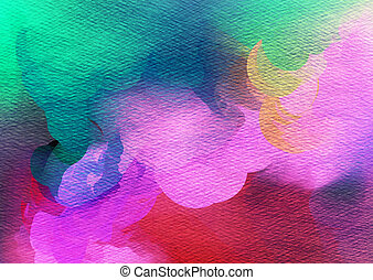 watercolor, achtergrond., abstract