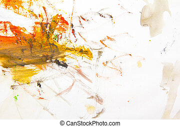 watercolor, achtergrond, abstract