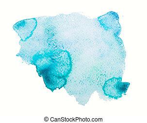 watercolor, achtergrond, blots, textuur