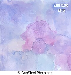 Watercolor background - Abstract watercolor background in...