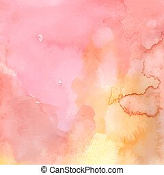 Watercolor background - Abstract watercolor background in ...