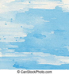 Watercolor background - Abstract watercolor hand painted...