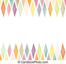 Watercolor background - Designed watercolor background