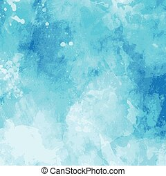 Watercolor background - Detailed background with watercolor...