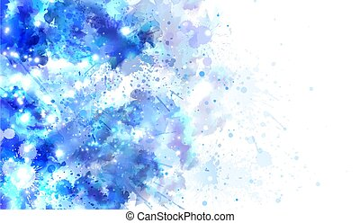 Watercolor background