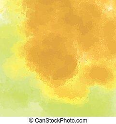 watercolor background illusration