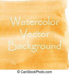 Watercolor banner design