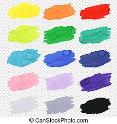 Watercolor Blots Collection