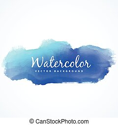 watercolor blue stain