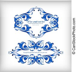 Watercolor blue vector background? - Watercolor blue vector...