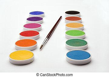 watercolor cells