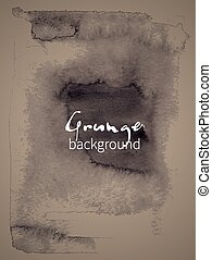 Watercolor design element grunge background