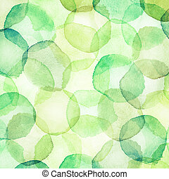 watercolor dots - Designed abstract background