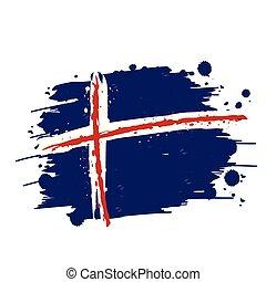 flag of iceland