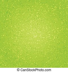 Watercolor green abstract background with splashes