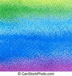 watercolor green blue background