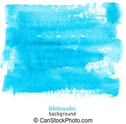 Watercolor hand drawn background.