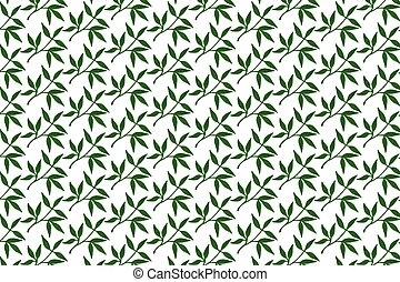 Watercolor Leaves Seamless Patterns
