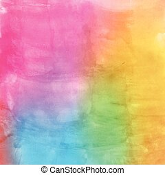 Watercolor multicolor background for scrapbooking design. Illustration made in vector.