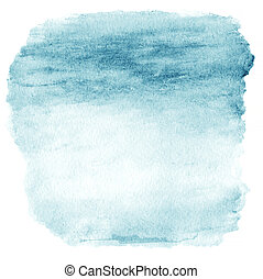 Watercolor Ombre Background. Watercolor Wash top abstract frame