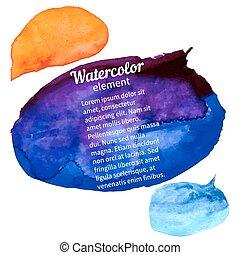 watercolor, ontwerpen basis