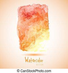 watercolor, realisatie, ontwerpen basis
