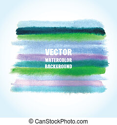 Watercolor vector background with place for your text.