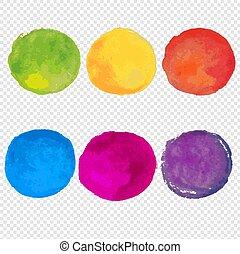 watercolor verf, set