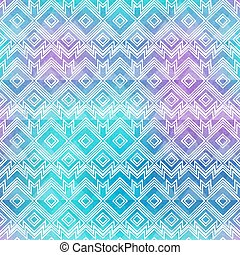 Watercolor vintage seamless pattern.