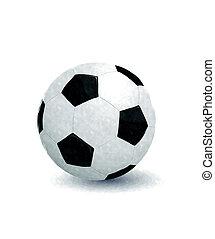 watercolor, voetbal