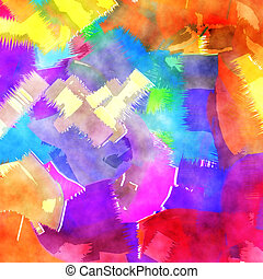 Watercolor Wash Paper background
