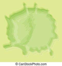 watercolor wet green paint background design