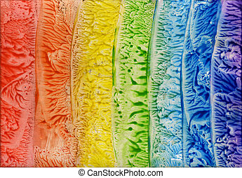 watercolors abstract bright background