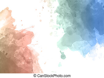 watercolour abstract background 0209 - Abstract background...
