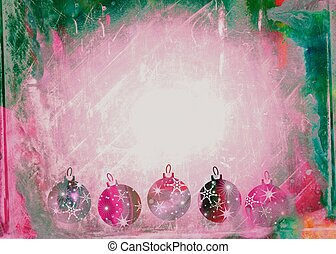 Watercolour Christmas Bauble Paper