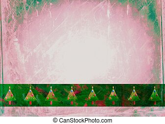 Watercolour Christmas Tree Paper