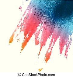watercolour, fondo, splat, 2402