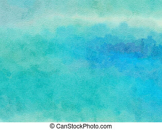 Watercolour Paper Wash - A digitally created watercolour...