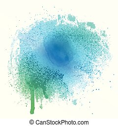 watercolour splat texture 1704 - Abstract background with a...