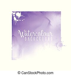 watercolour square background 2004 - Abstract background...