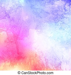 watercolour texture 2805 - Decorative background with...