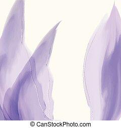 watercoluor, onda, aquarela, vetorial, elemento, texture., design.