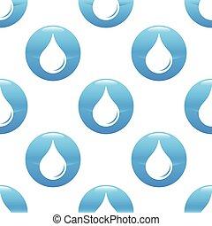 Waterdrop sign pattern