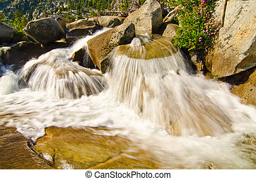 Waterfall at Lake Tahoe