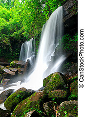 Waterfall at Loei,Thailand