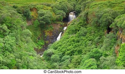 Waterfall At Rigg Viewpoint, Isle Of Skye, Scotland - Graded...
