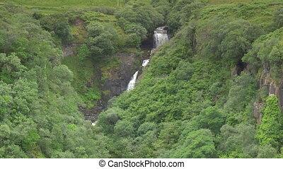 Waterfall At Rigg Viewpoint, Isle Of Skye, Scotland - Native...